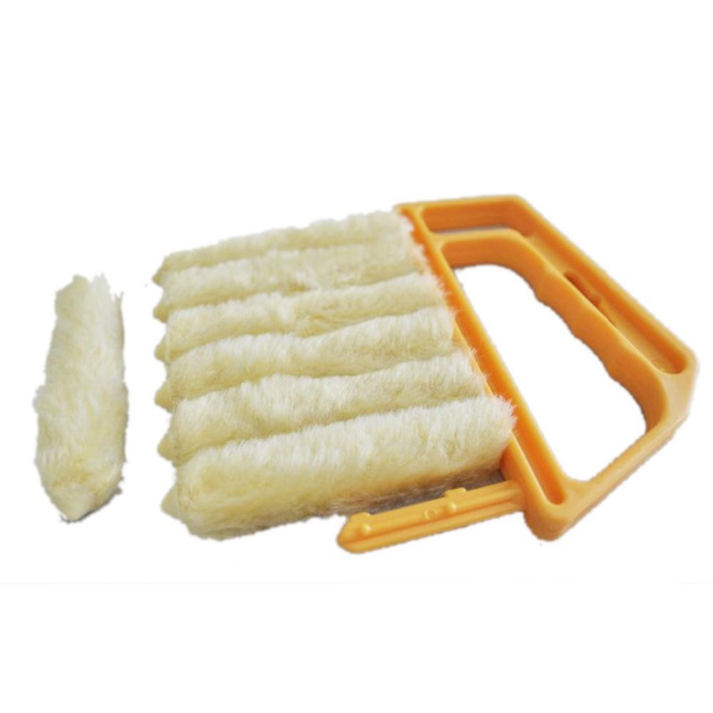 Ventana de microfibra lavable Mini-ciego Cepillo de limpieza - Bienes para el hogar