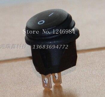 [SA]Power switch -Taiwan group LIGHT Dual rocker switch waterproof oil black boat type switch RC15--50pcs/lot