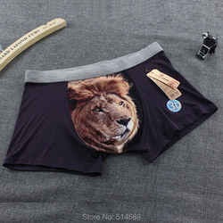 5 pcs lot new modal men boxer shorts men s boxers mens underwear 3d print animal.jpg 250x250