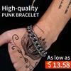 BEIER 2017 New Unique Cool Skull Bracelet For Man 316 Stainless Steel Man S Bangle High