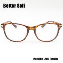 Better Self L2172 Vintage Eyeglasses PC Square Glasses Women Myopia Optical Glasses