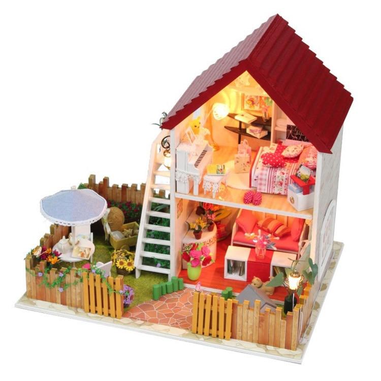Buy Free Shipping Diy Wooden Miniature