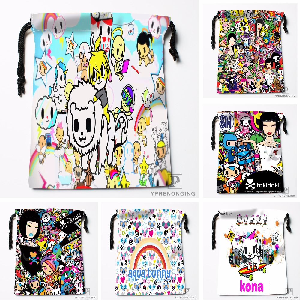 Custom Drawstring Bags Travel Storage Mini Pouch Swim Hiking Toy Bag Size 18x22cm#0412-03-41