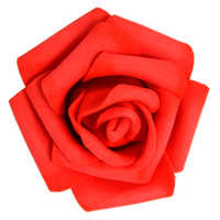 100PCS Foam Rose Flower Bud Wedding Party Decorations Artificial Flower Diy Craft Red 17 Colors