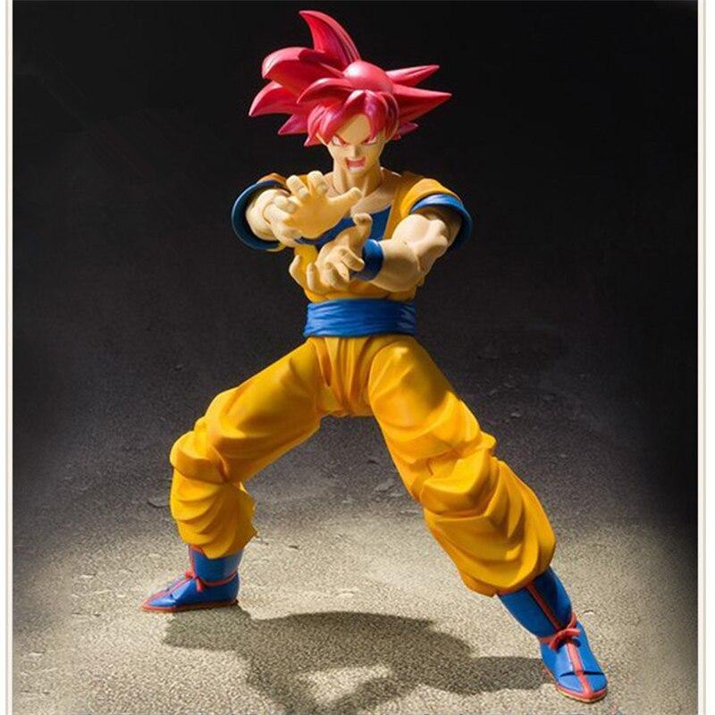 SHF S.H.Figuarts Dragon Ball Z Son Gokou PVC Action Figure Collectible Model Anime Toys 16cm anime dragon ball super saiyan 3 son gokou pvc action figure collectible model toy 18cm kt2841