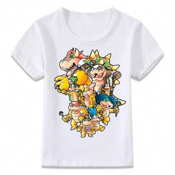 T-shirt Enfants Bowser Family