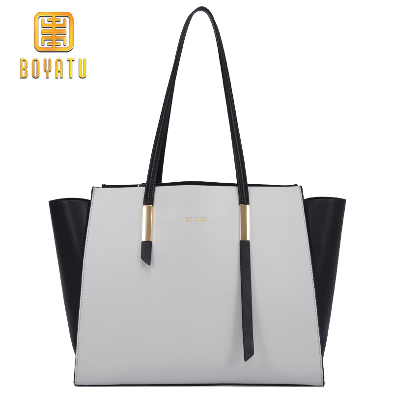 Luxury Designer Leather Handbags Women Bags Fashion Shoulder Bags for Woman 2018 Sac A Main ladies Tote Bag Purse Brand New 2016 new rivet brand women messenger bag leather tote bags for women luxury handbags famous designer bags ladies sac a main