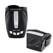 Best Car radar detector GRD 750 with X K new K Ku Ka new Ka 6 / 8F VG 2 360 Laser Band Anti Radar Detector Car Detector