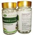 2 Garrafas de Resveratrol 98% Cápsula 450 mg x 180 pcs frete grátis