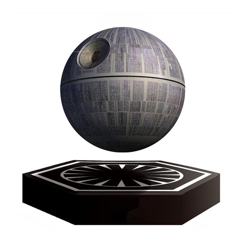 Star Wars Death Star Magnetic Levitation Bluetooth Speaker Global Planet Wireless Portable Floating Maglev 360 Degree