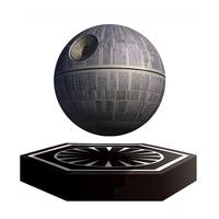 Star Wars Death Star Magnetic Levitation Bluetooth Speaker Global Planet Wireless Portable Floating Maglev 360 Degree