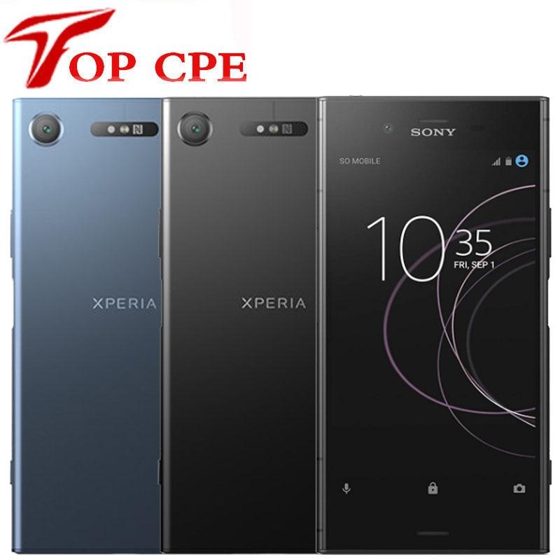 "Original SONY Xperia XZ1 G8341 4G RAM 64G ROM 5.2"" Octa Core 19MP 1080P Single Sim smartphone WIFI GPS Android LTE Mobile Phone(China)"