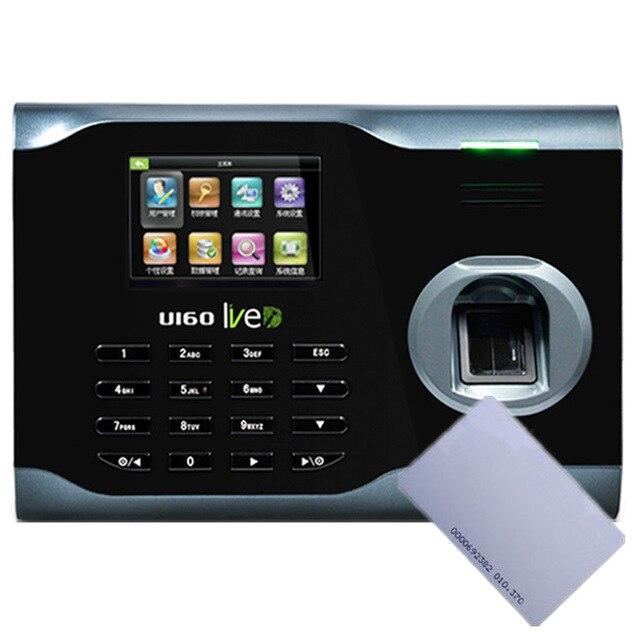где купить ZK U160 WIFI TCP/IP Fingerprint Time Attendance with 13.56M IC Card Free Software U160 Fingerprint time clock по лучшей цене