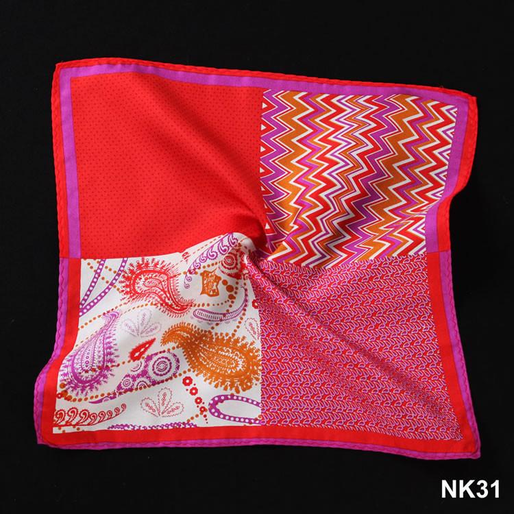 NK31 HN12R1 Red Herringbone Paisley Dot (5)