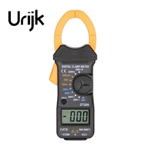 Urijk 1Pc Clamp Meter Digital Multimeter Pocket Mini Handheld Ammeter Voltmeter Ohmmeter Electrical High Quality
