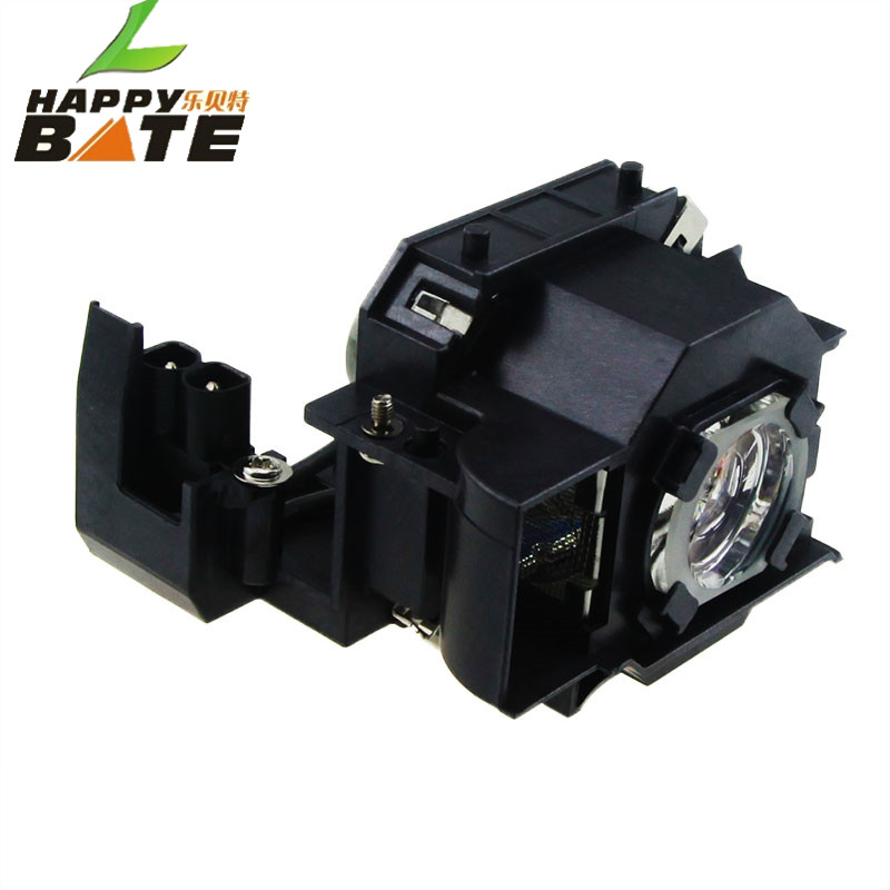 HAPPYBATE Compatible Lamp with Housing for ELPLP33/V13H010L33 EMP-TW20/EMP-TWD1/ EMP-S3 /EMP-TWD3/EMP-TW20H/EMP-S3L/PowerLite S3