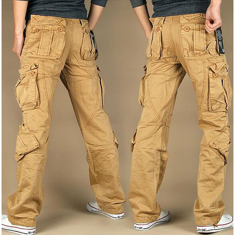 Men And Woman Cargo Pants Trousers Loose Pure Cotton Plus Size Ladies Harem Hip Hop Pants Casual Pants Size :XS-4XL