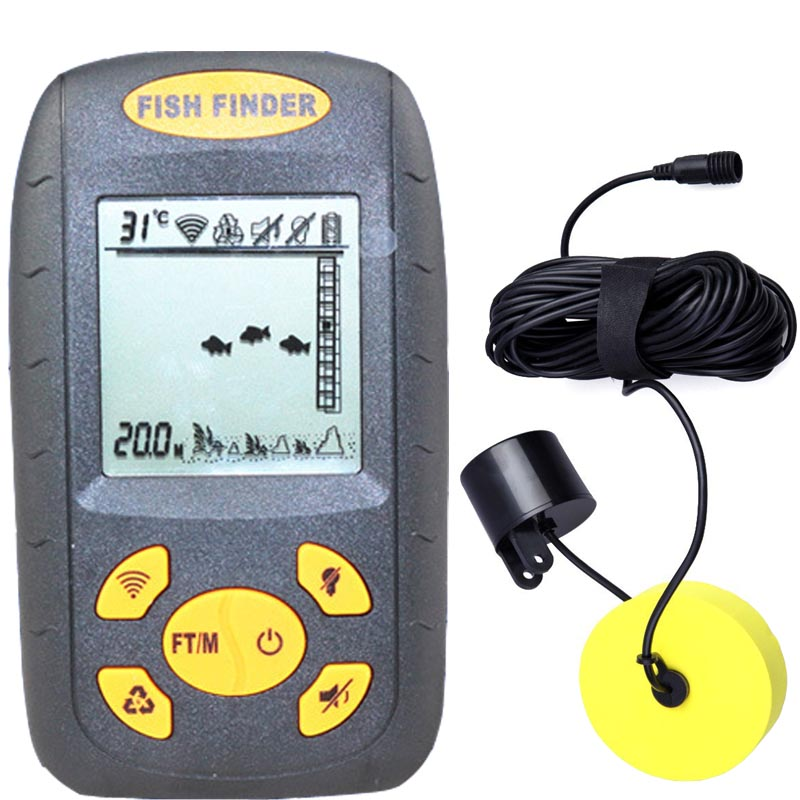 aliexpress : buy fishfinder,fishing equipment,top portable dot, Fish Finder
