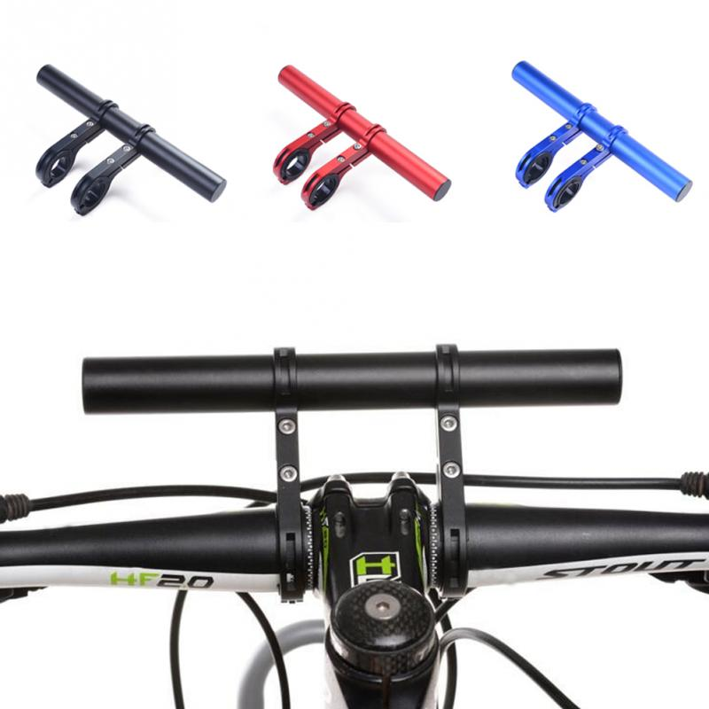 NEW Extra Length 20CM Road Bicycle Handlebar Extended Bracket Bike Headlight Mount Bar Computer Holder Lamp Alloy Fiber Support yongnuo ls02 n3 для rf 602 и камер nikon
