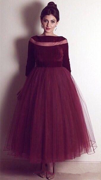 burgundy-velvet-evening-gown-2019-a-line-prom-dresses-with-long-sleeve-boat-neck-long-formal-pageant-gowns-vestidos-de-noiva-ankle-length (1)_