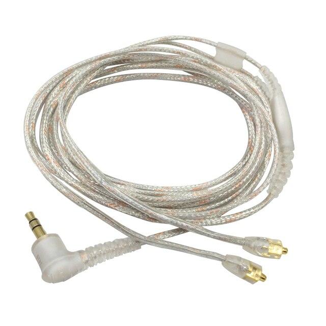 Yedek kablo Shure Se215 Ue900 W40 Se425 Se535 kulaklık kulaklık