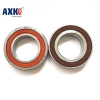 1 Pair AXK 7005 H7005CETA RZ P4 DB DT DF A 25x47x12 7005C Sealed Angular Contact