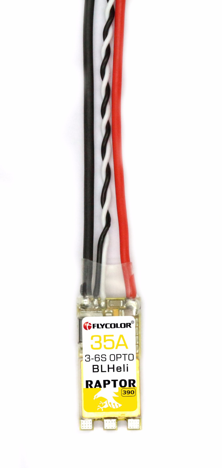 F19699 Flycolor Raptor F390 35A OPTO 6S BLHeli ESC MINI Electronic Speed Controller For RC racing Multicopter Multirotor