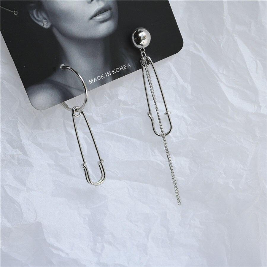 Pendientes Mujer Moda корейские модные ювелирные изделия геометрические длинные серьги-гвоздики с кисточками для женщин Brincos Kpop серьги для мужчин