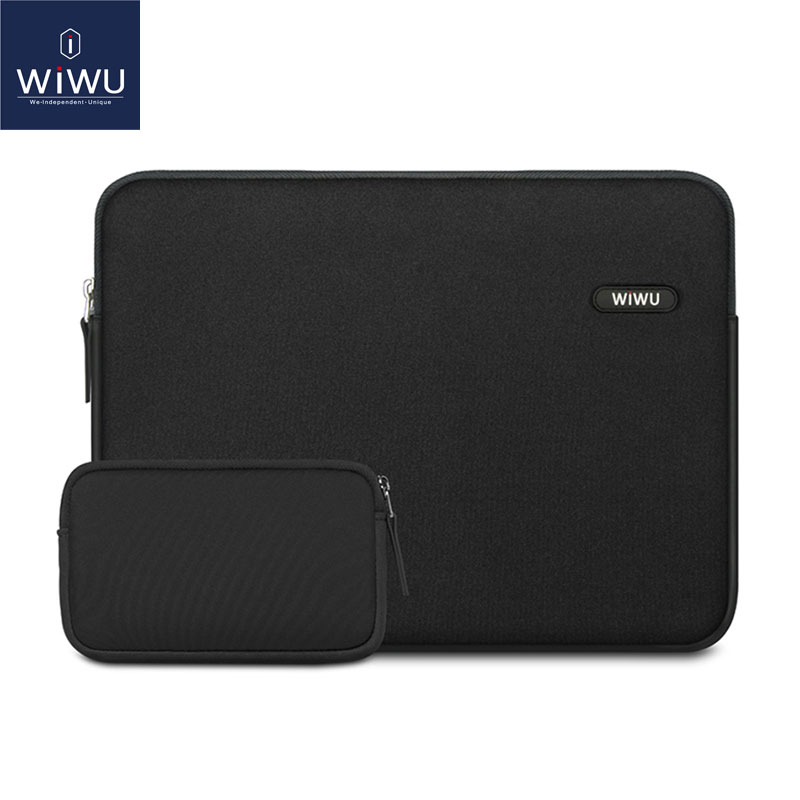 WIWU 13.3 Inch Laptop Sleeve for MacBook Pro 13 Waterproof Laptop Bag Case for MacBook Pro 15 Inch Fashion Notebook Bag 14 inch wiwu waterproof laptop bag case for macbook pro 13 15 air bag for xiaomi notebook air 13 shockproof nylon laptop sleeve 14 15 6