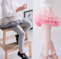 الجملة تنورة الطفلات الربيع pantskirts الملابس طفل الكرة ثوب الاطفال ملابس الأميرة الأطفال مش المتدرج 5 قطعة/الوحدة