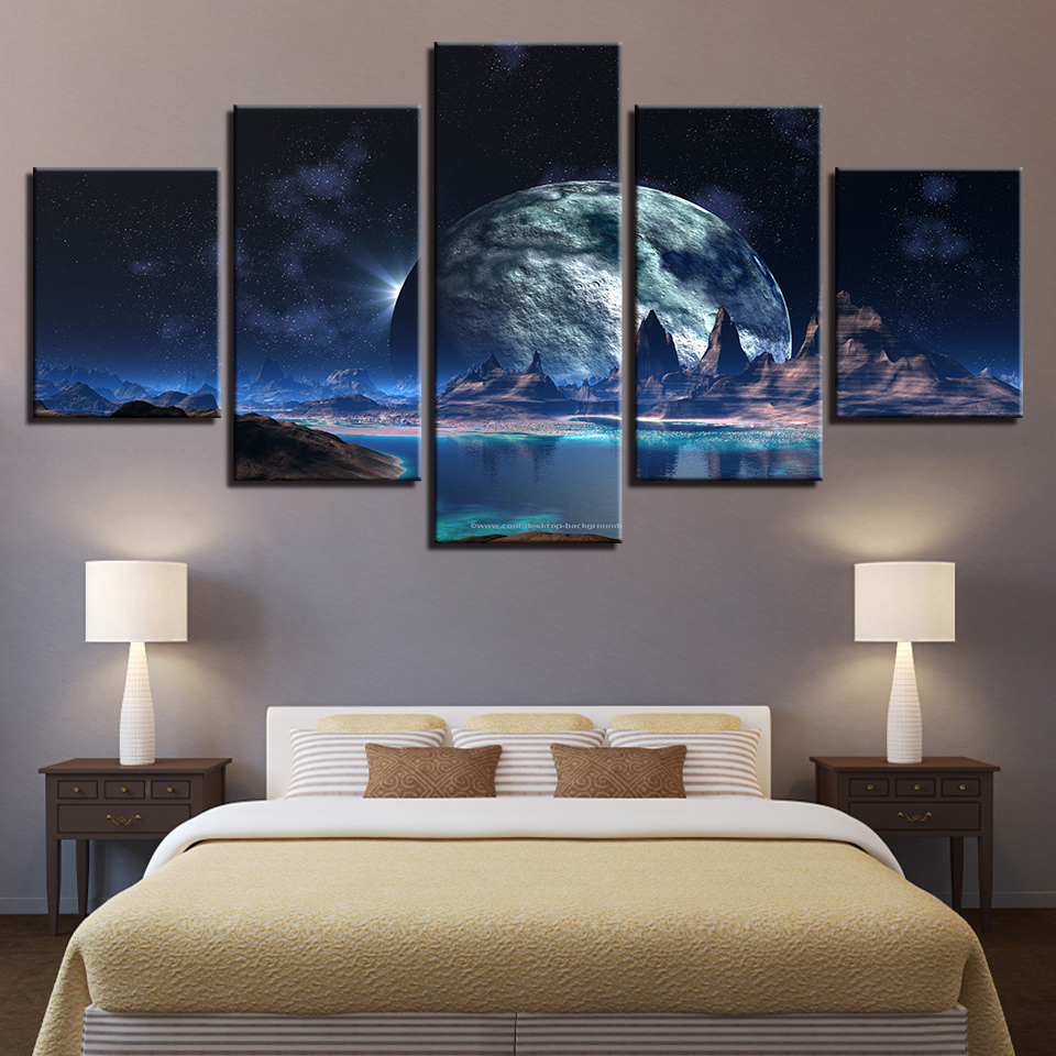 Stores With Home Decor: Aliexpress.com : Buy Canvas Posters Home Decor Wall Art 5