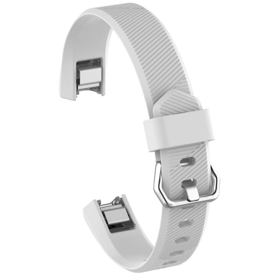 Smart Accessories wrist strap Large Replacement Wrist Band Silicon Strap Clasp For Fitbit Alta HR Watch Feb 23
