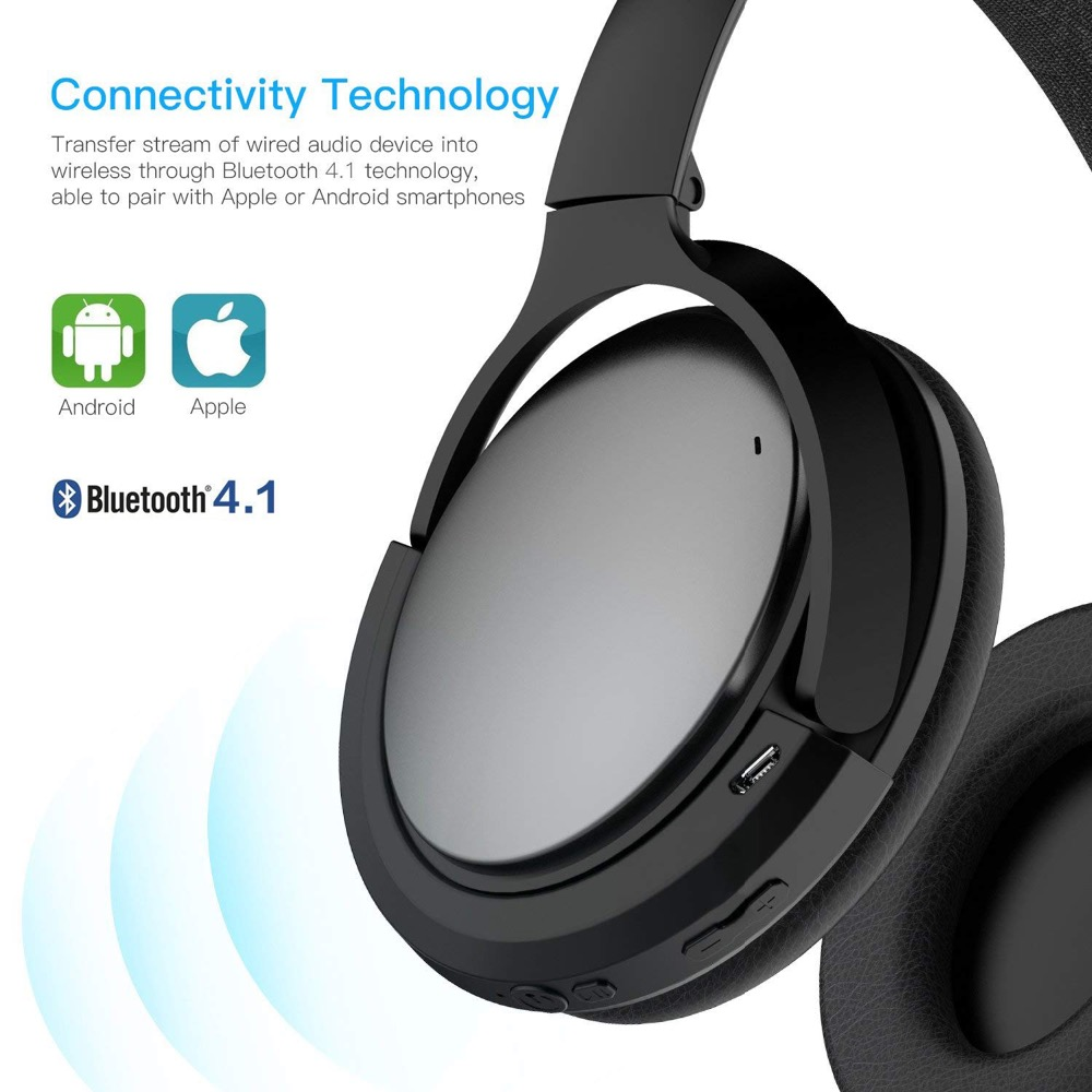 POYATU Wireless Bluetooth Adapter For Bose QC25 QC 25 Headphones Wireless Bluetooth Receiver For Bose QuietComfort 25 aptX A-6