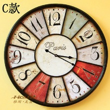 60CM Large Wall Clock Saat Clock Duvar Saati Reloj Vintage home decor Digital Wall Clocks Horloge