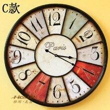 60CM Large font b Wall b font font b Clock b font Saat font b Clock