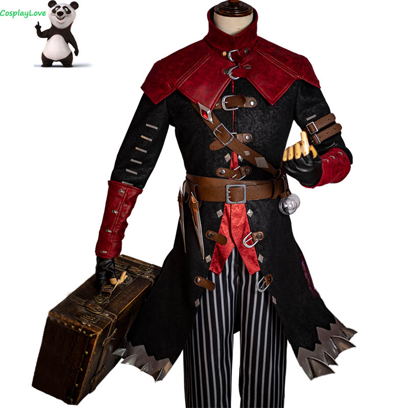 CosplayLove Game Identity V Cosplay Costumes Exorcist Embalmer Aesop Carl Cosplay Costume Custom Made For Halloween Christmas