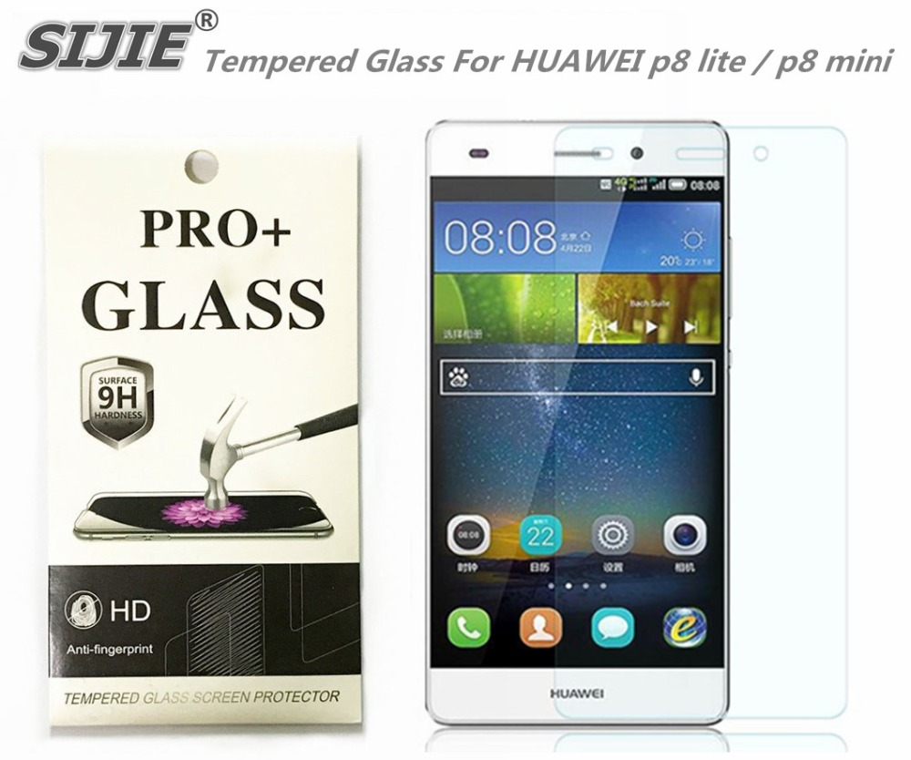 Tempered Glass For HUAWEI p8 lite mini G8 ALE TL00 p8lite cover Screen protective smartphone toughened case 9H on 5 inch thin in Phone Screen Protectors from Cellphones Telecommunications