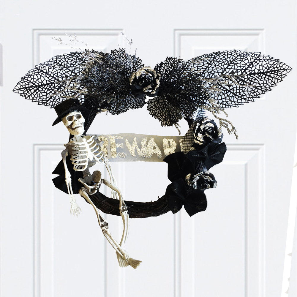 skeleton wreath (4)