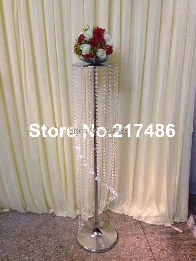 Flower stands for wedding centerpieces images wedding decoration ideas newest product tall acrylic flower stands wedding table elegant mental wedding centerpieces junglespirit Image collections