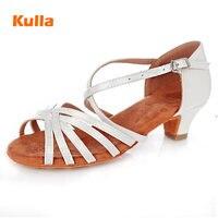 1ccb019c ... mujeres salón zapatos para bailar al por mayor tamaño 24 41. Low Heels  Girls Salsa Latin Tango Dance Shoes White Black Children Women Ballroom  Salsa ...