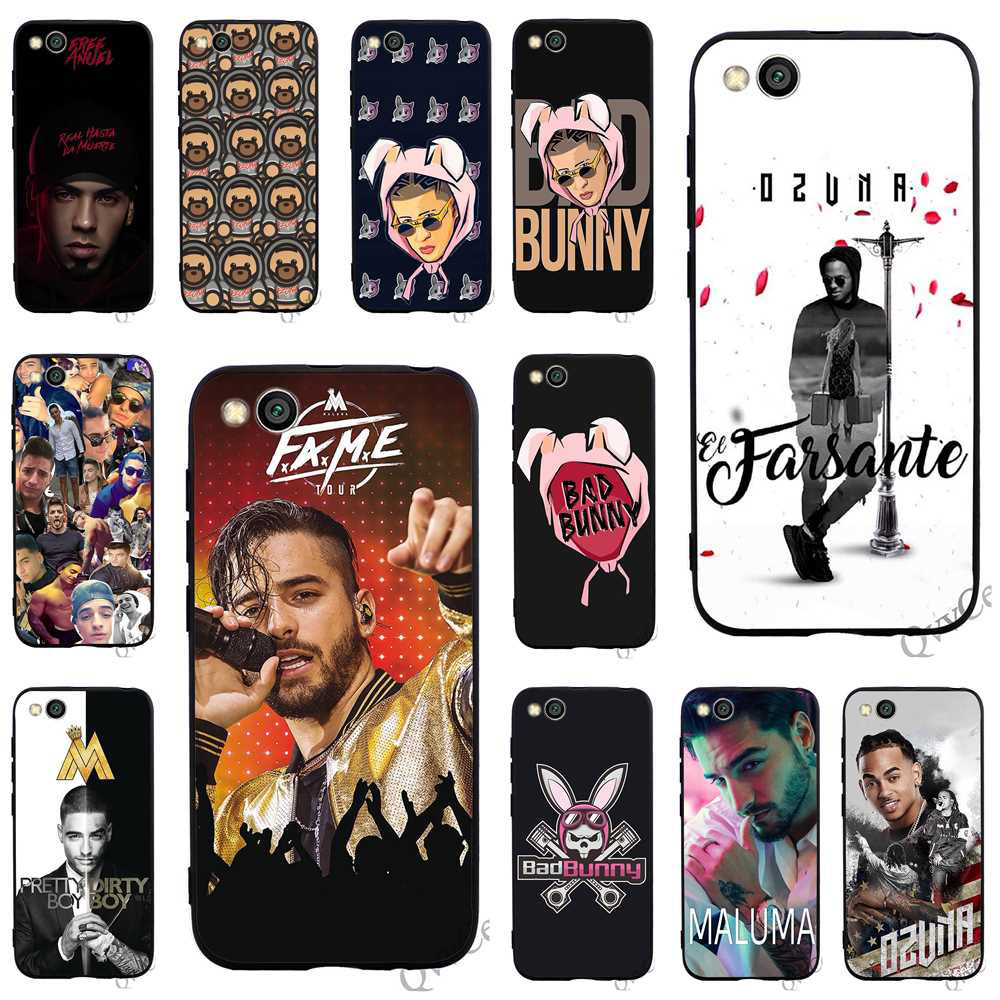 Qualified Slim Bunny Maluma Ozuna Pop Hip Hop Rapper Phone Cover For Xiaomi Mi 6 Case A1 A2 Lite 8 F1 Covers Back Moderate Price Fitted Cases Phone Bags & Cases