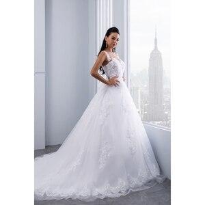 Image 4 - Miaoduo бальное платье, свадебные платья 2020, женское свадебное платье с кристаллами и поясом, свадебное платье, новинка