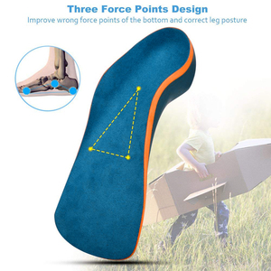 Image 2 - Sunvo Kid Orthotic Insoles for Children Flatfoot Arch Support Corrector Child Orthopedic Shoes Pad Foot Care Toddler Insole Sole