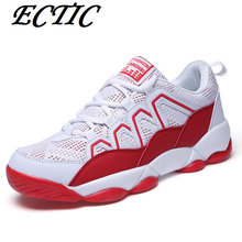 2017 ECTIC Brand Breathable Men's Outdoor walking Shoes Damping Blade Soles Sports Shoes School students Sneakers Size 39-44