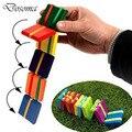 Crianças De Madeira Clássico Aba Colorida Adereços Jogo de Coordenação olho-Mão Do Bebê Brinquedos Educativos Crianças Brinquedos De Treinamento Dedos Flexível