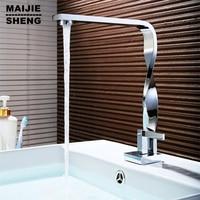 Torneira faucet water tap brass mixers Twist chrome bathroom Faucet basin crane water faucet basin mixer