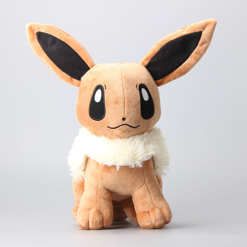 High Quality Pikachu Soft Stuffed Cosplay Plush Toys 12 30 CM Anime Cute Rare Eevee Soft Toys For Children Peluche Dolls hot cute pikachu plush toys 22cm high quality plush toys children s gift toy kids cartoon peluche pikachu plush dolls for baby