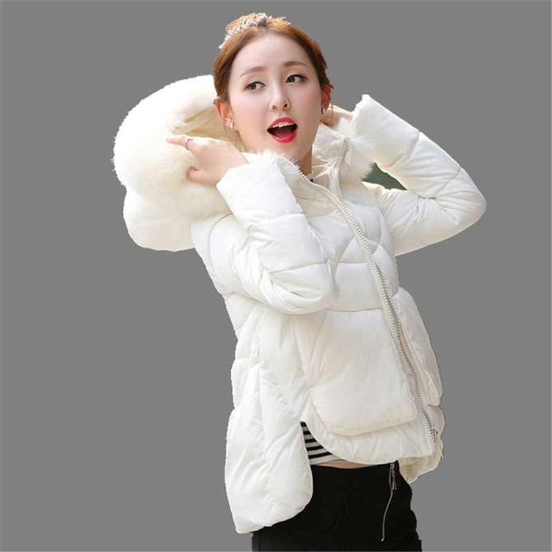ФОТО 2016 Winter Jacket Women Thick Outerwear Plus Size women Parkas Camperas Mujer Abrigo Cotton-Padded Jackets And Coats  16456