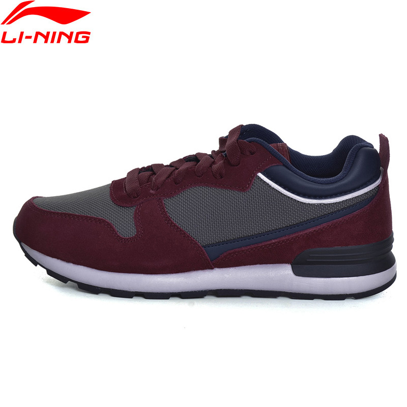 Li-Ning Men Sport Walking Shoes Fitness Comfort Breathable Sneakers Stability LiNing TPU Support Sports Shoes GLKM105 YXB111 li ning original men s professional basketball shoes wade sixth man high sport shoes sneakers zapatos de baloncesto abal013