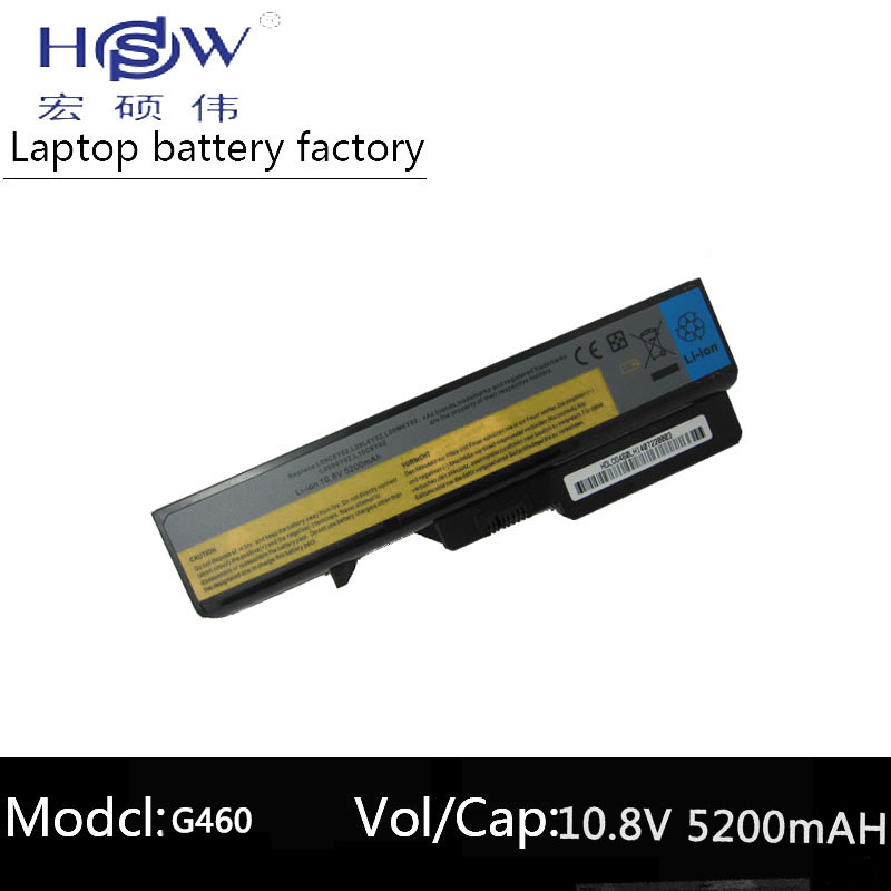Hsw Battery For Lenovo Ideapad G565 B470 B457 K47 V470 B570 G460